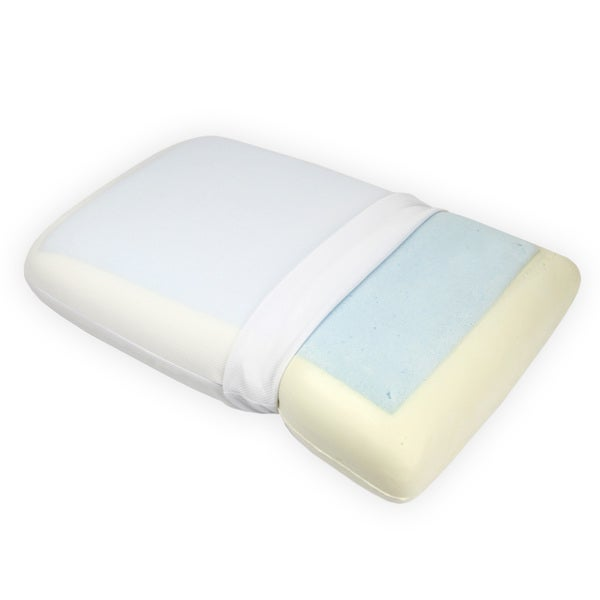 Comfort Home Gel Infused Memory Foam Pillow