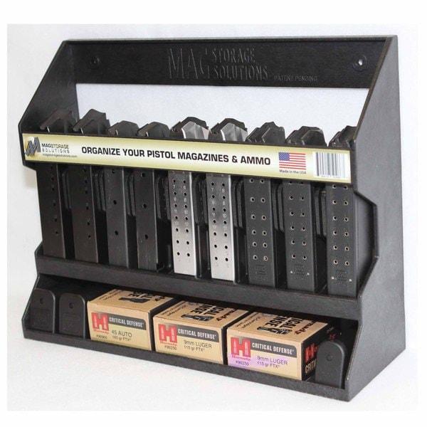 Mag Storage Solutions Universal Pistol Magazine Storage