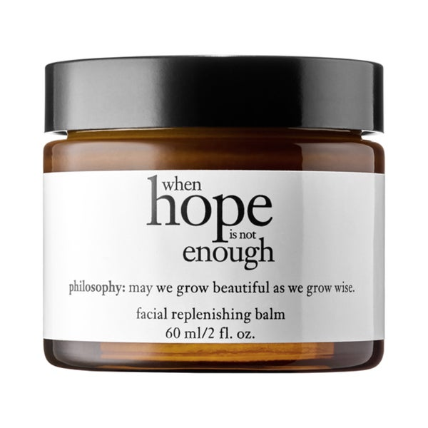 Philosophy When Hope Is Not Enough Facial Replenishing 2-ounce Balm