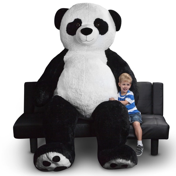 World Plush Toys 94-inch Giant Panda Bear Stuffed Animal