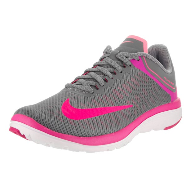 Nike Women's FS Lite Run 4 Grey Mesh Running Shoes