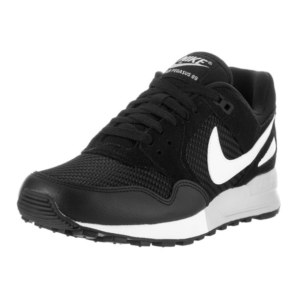 Nike Women's Air Pegasus '89 Black Textile Running Shoes