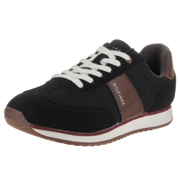 Tommy Hilfiger Men's Modesto Black Suede Casual Shoes