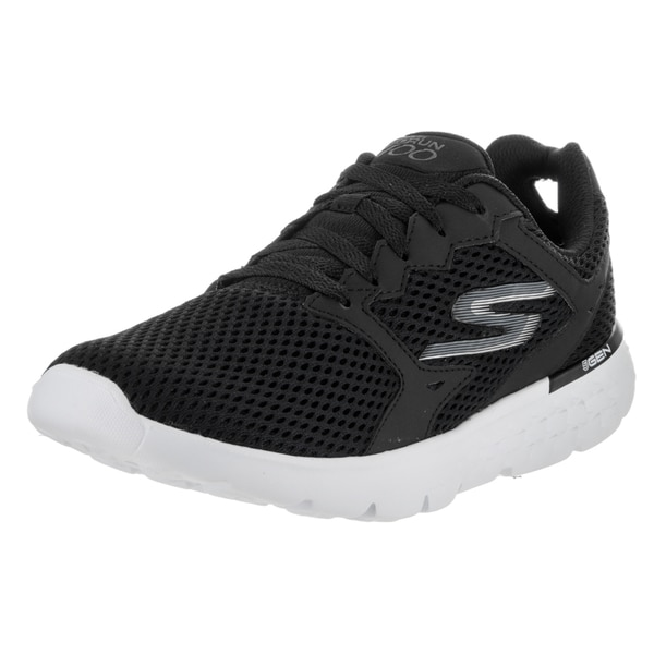 Skechers Women's Go Run 400 Black Running Shoes 22341597