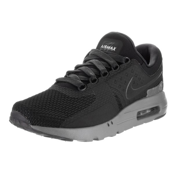 Nike Men's Air Max Zero QS Black Synthetic Running Shoes