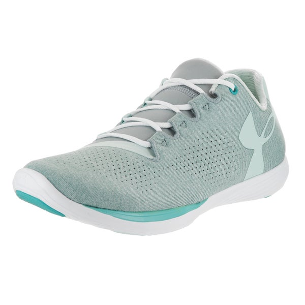 Under Armour Women's Street Precisionlo Relaxed Blue Synthetic Leather Training Shoes