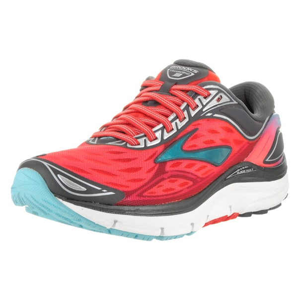 Brooks Women's Diva Pink/Anthracite/Bluefish Transcend 3 Running Shoe