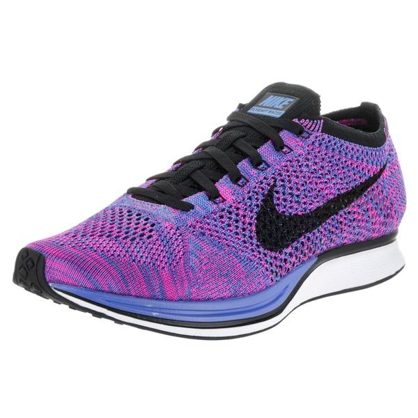 Nike Unisex Flyknit Racer Purple Running Shoes