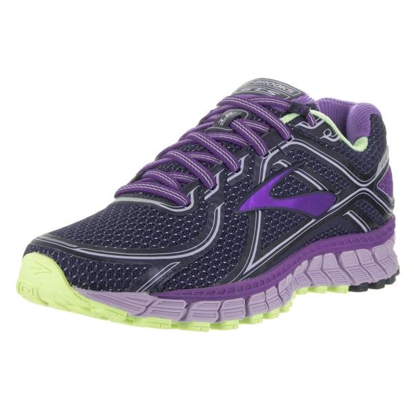 Brooks Women's Adrenaline GTS 16 Purple Wide Running Shoe