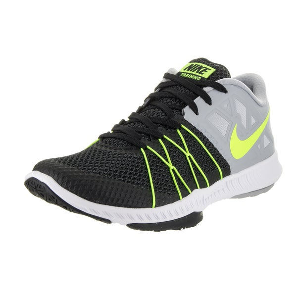 Nike Men's Zoom Train Incredibly Fast Black Engineered Mesh Training Shoe