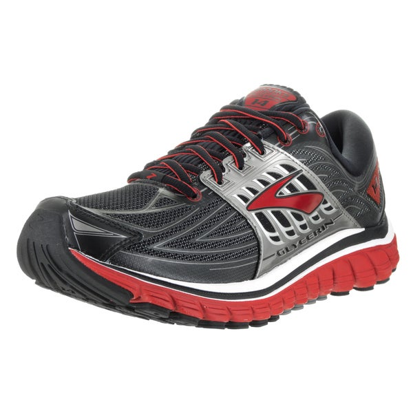 Brooks Men's Glycerin 14 Black Running Shoes