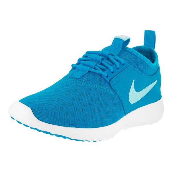 Nike Women's Juvenate Blue Mesh Running Shoes 22342314