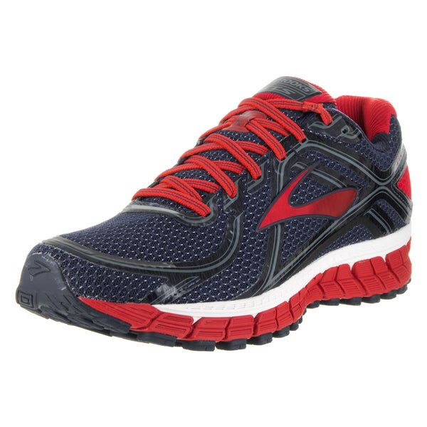 Brooks Men's Adrenaline GTS 16 Pulrple/Red Running Shoes