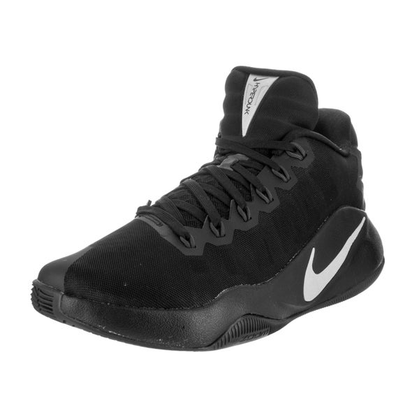 Nike Men's Hyperdunk 2016 Black Flyknit Low Basketball Shoes