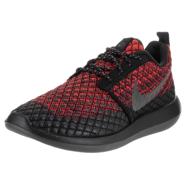 Nike Men's Crimson Black Roshe Two Flyknit 365 Running Shoe