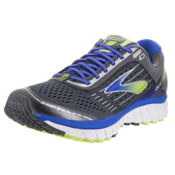 Brooks Men's Ghost 9 Grey Textile Running Shoes
