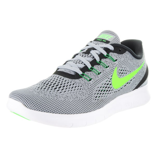Nike Men's Free Run Grey Textile Running Shoes