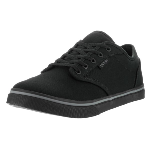 Vans Women's Atwood Low Black Canvas Casual Shoe