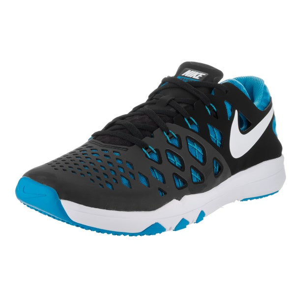 Nike Men's Train Speed 4 Black Synthetic Leather Training Shoes