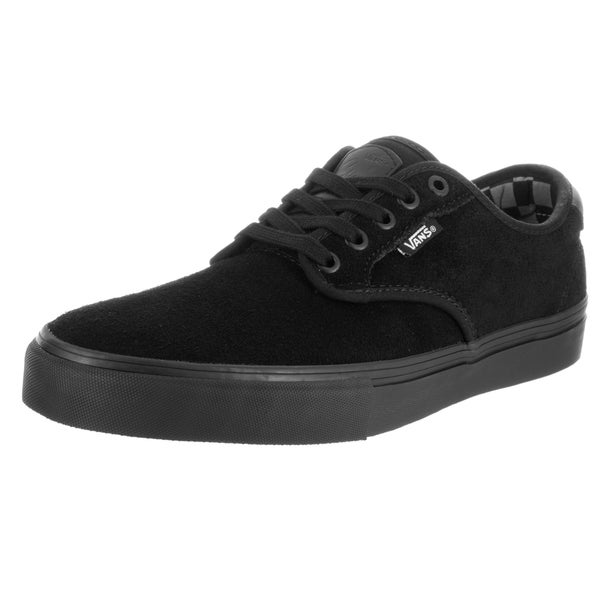Vans Men's Chima Ferguson Pro (Mono) Black Suede Skate Shoes