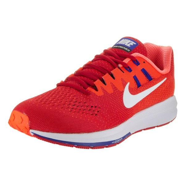 Nike Men's Air Zoom Structure 20 Red Running Shoe