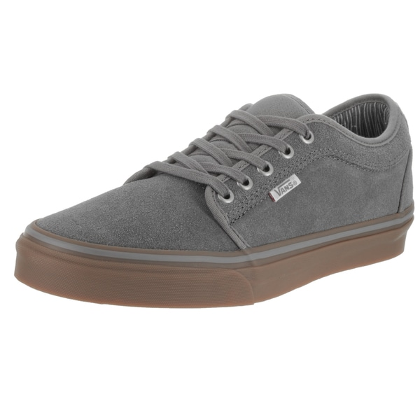 Vans Men's Chukka Grey Suede Low Work Wear Skate Shoes