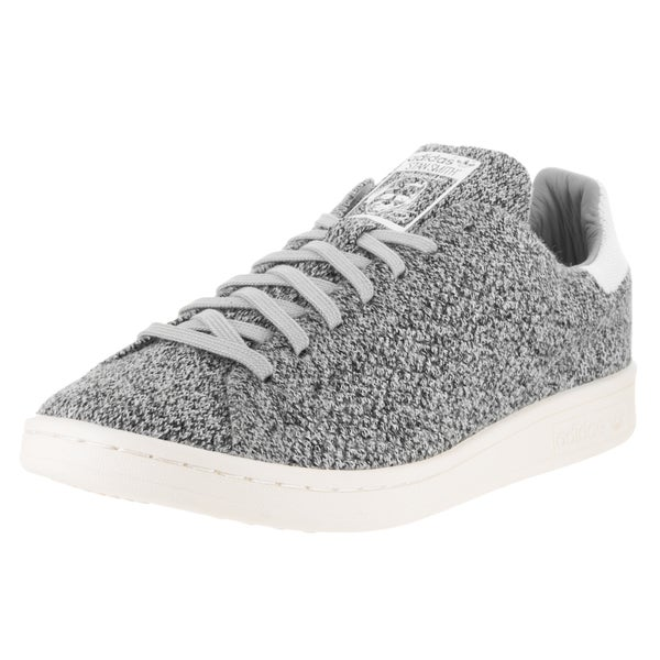 Adidas Men's Stan Smith Grey Primeknit Casual Shoe