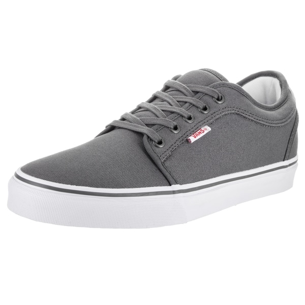 Vans Men's Chukka Grey Canvas Low Skate Shoes
