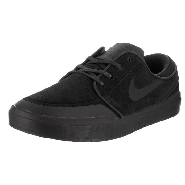 Nike Men's Black Suede Stefan Janoski Hyperfeel Skate Shoe 22344121