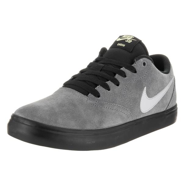 Nike Unisex SB Check Solar Grey Suede Skate Shoe