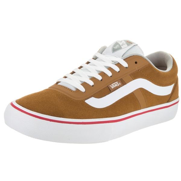 Vans Men's AV RapidWeld Pro Caramel Suede Skate Shoes
