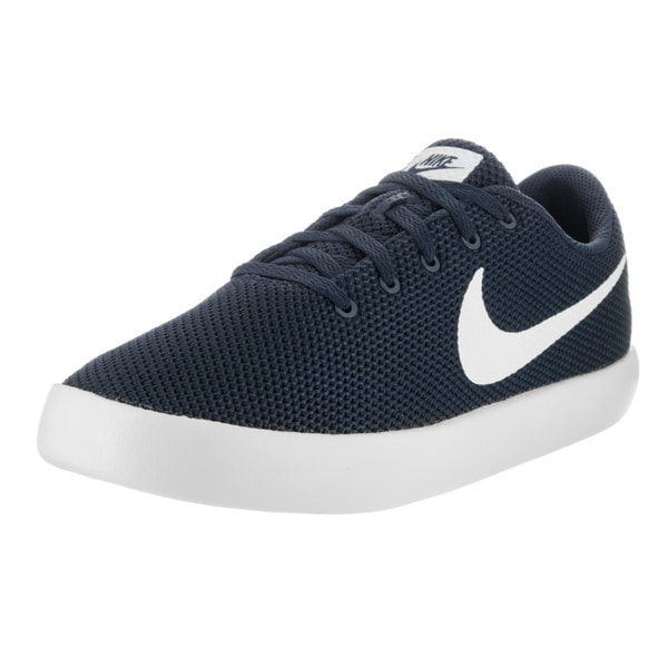 Nike Men's Essentialist Obsidian/White Textile Casual Shoe 22344925