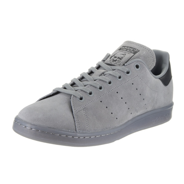 Adidas Men's Stan Smith Originals Grey Suede Casual Shoes