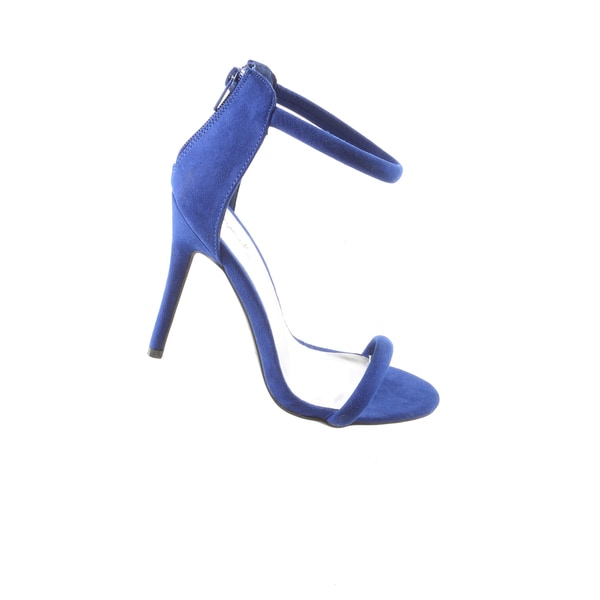 Hadari Women's SexyHigh Heel Open Toe Blue Sandal Dress Pumps