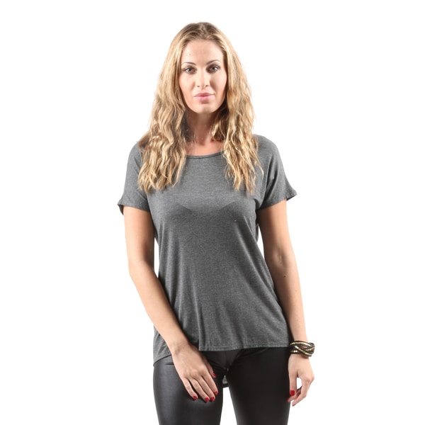 Hadari Women's Casual Short Sleeve Round Neck T-Shirts Top