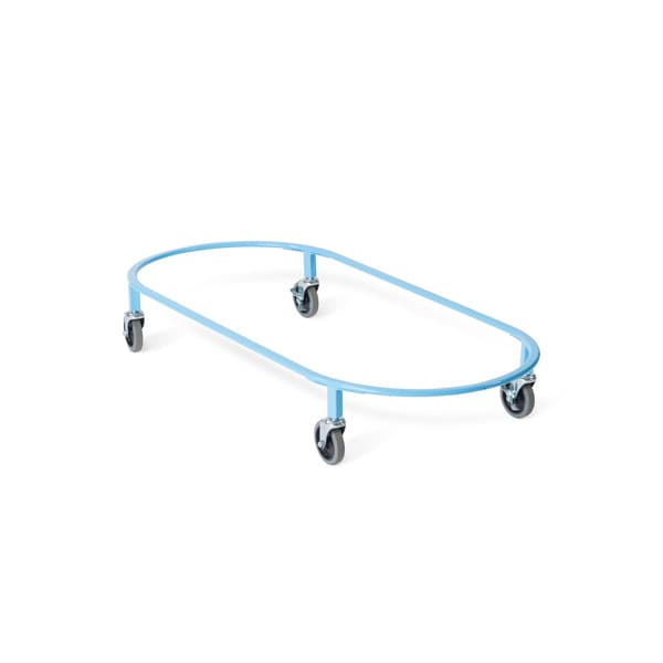 Foundations Podz Blue Steel Standard Cot Carrier with Casters