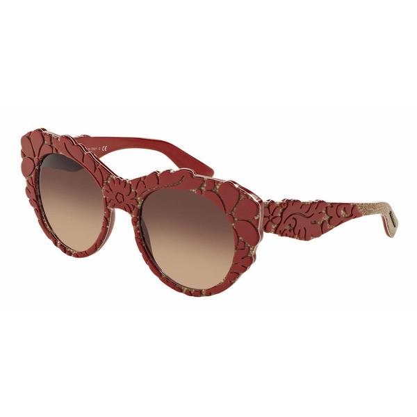 Dolce&Gabbana Women DG4267F 299913 Red Round Sunglasses
