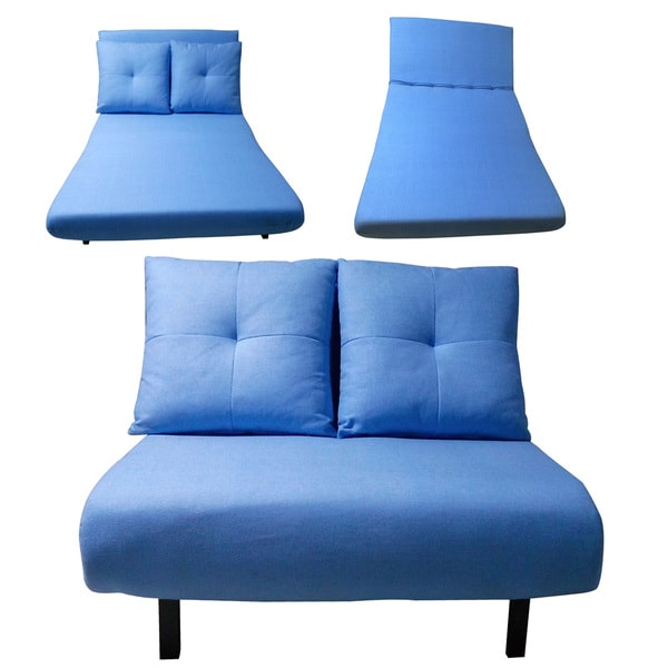 Vono Blue Sofa Bed