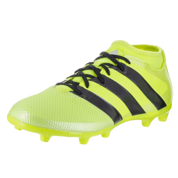 Adidas Men's Ace 16.3 Primemesh FG/AG Yellow Synthetic Leather Soccer Cleat