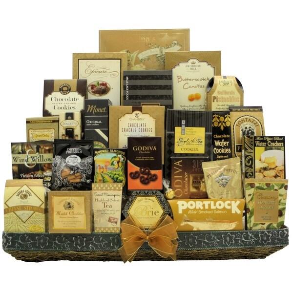 Holiday VIP: Gourmet Holiday Christmas Gift Basket 22397442