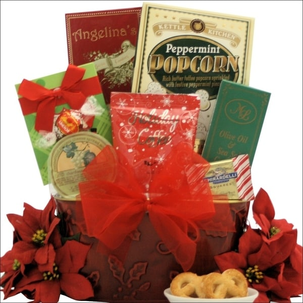 Tidings of Joy: Small Gourmet Holiday Christmas Gift Basket 22397444