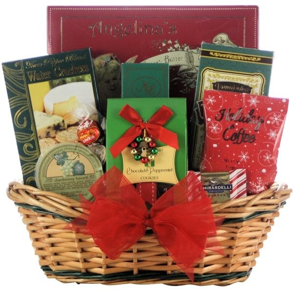 Tidings of Joy: Small Gourmet Holiday Christmas Gift Basket 22397444