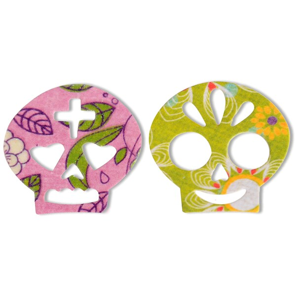 Sizzix Thinlits Dies-Day Of The Dead Couple In Love