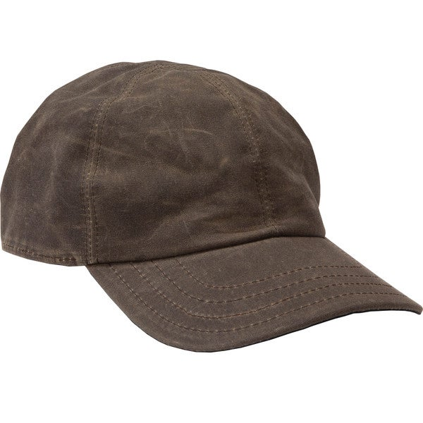 Stormy Kromer Waxed Cotton Curveball Hat 7 1/2 in Dark Oak (As Is Item)