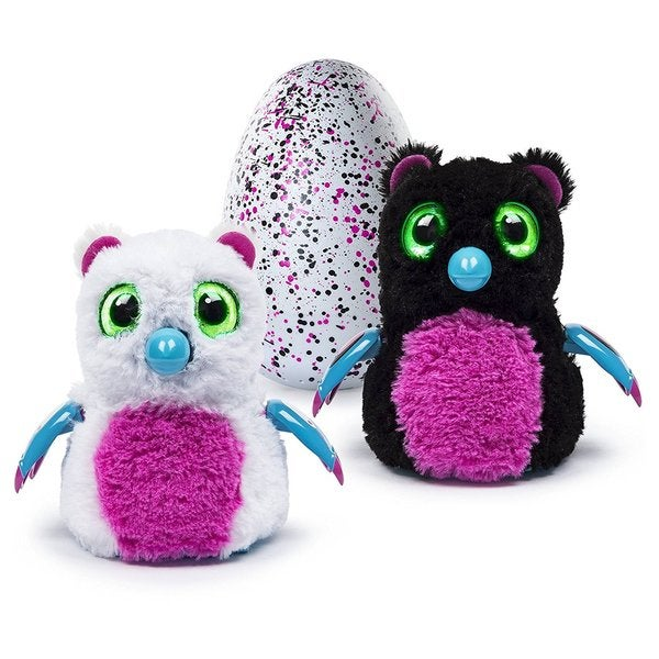 Hatchimals Hatching Egg Pink/Black Bearakeet