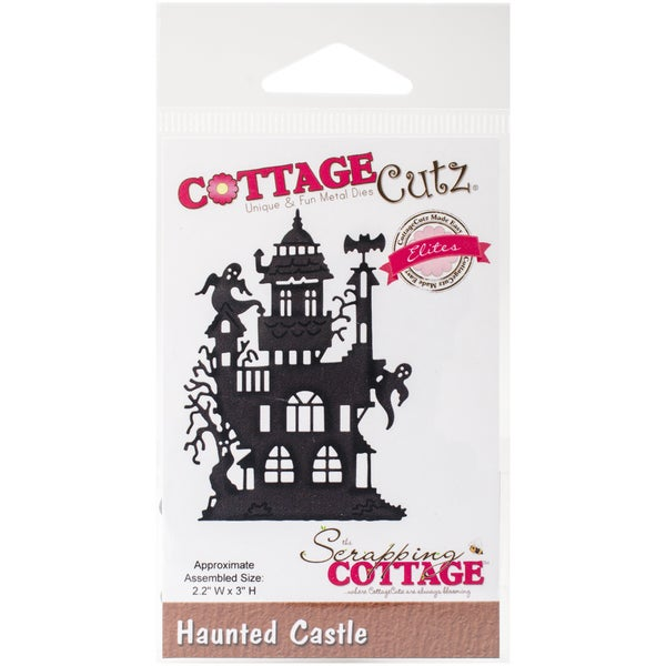 "CottageCutz Elites Die -Haunted Castle, 2.2""X3"""
