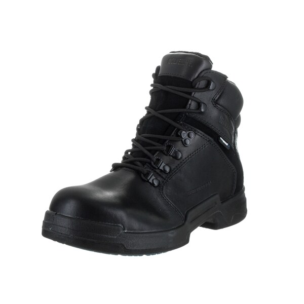 Wolverine Men's Griffin Black Leather 6-inch Boot