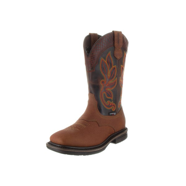 Wolverine Men's Roscoe HP WPF Brown Leather Boots