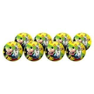 Hedstrom Kids' #4 Mickey Mouse Deflate Playball Party Pack (Pack of 6) 22407614