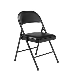 (4 Pack) NPS Commercialine Vinyl Padded Folding Chair
